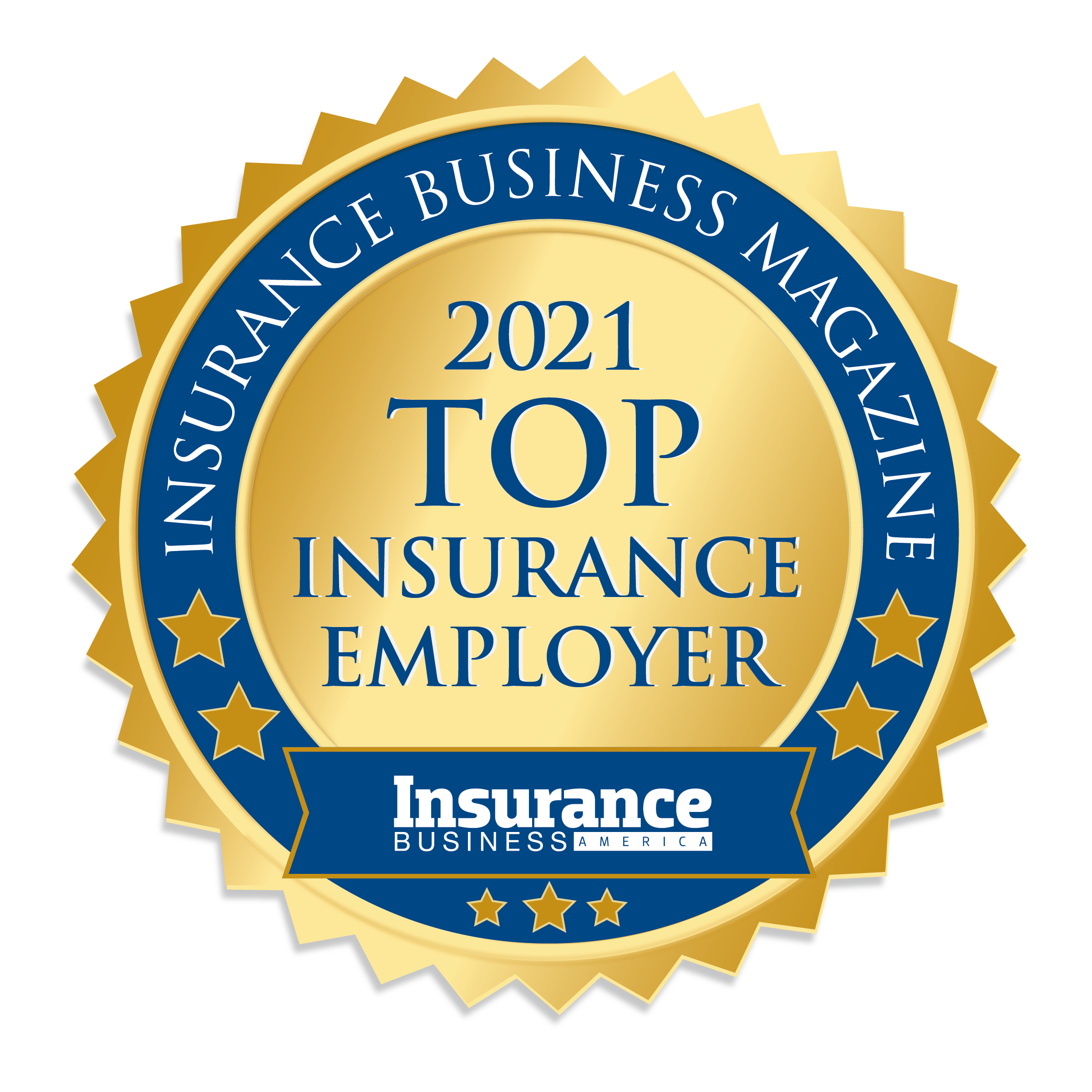 MEDAL Top Insurance Employers 2021