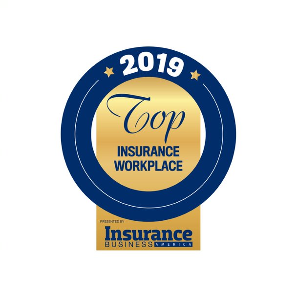 2019 Top Insurance Workplace presented by Insurance Business America