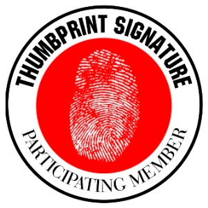 Thumbprint Signature participating member