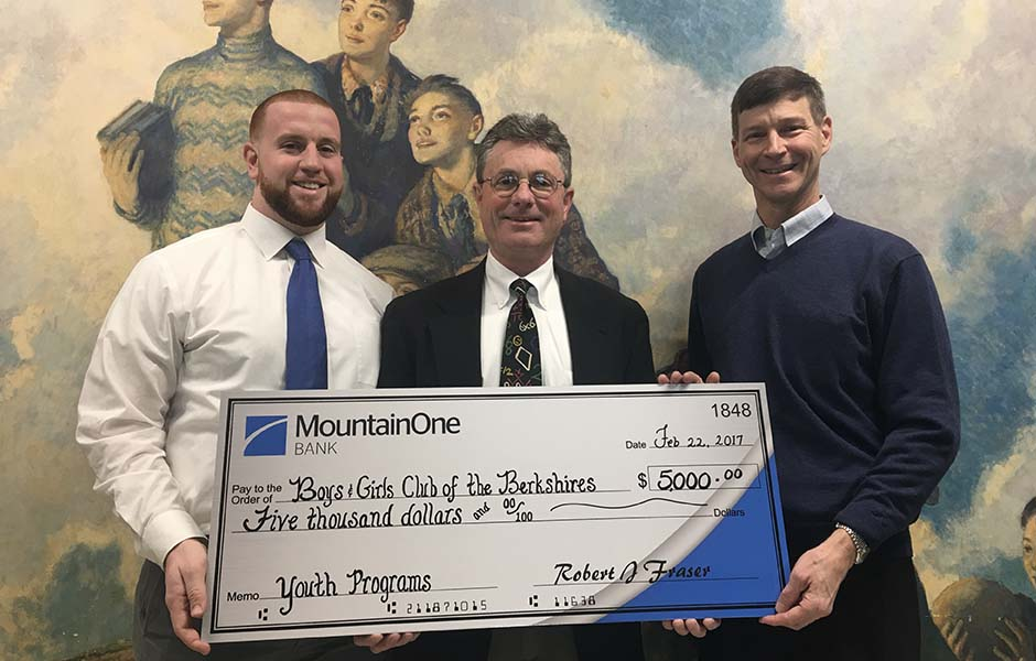 Boys & Girls Club of the Berkshires check presentation image